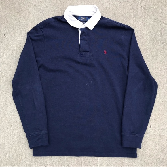 7c8b38f09 Polo by Ralph Lauren Shirts | Vintage Polo Ralph Lauren Rugby Long ...